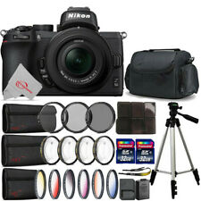 Nikon Z50 Mirrorless Digital Camera with 16-50mm Lens + Filter Accessory Kit