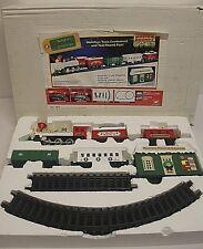 Vintage SANTA'S MUSICAL EXPRESS Christmas Train New Bright Holiday NEW