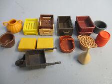 Viele Kisten Körbe Stroh Zzu 5119 5221 BAUERNHOF Playmobil 9610