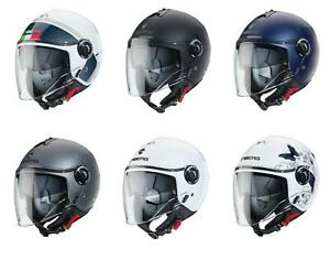 Caberg Riviera V4 Open Face Jet Motorcycle Motorbike Scooter Crash Helmet
