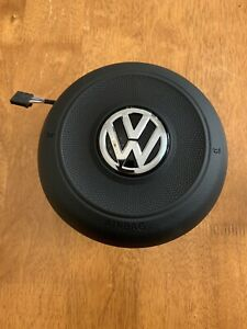Vw  SCIROCCO Driver Side Round Flat bottom Multifunction Type  OEM MFSW