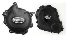 R&G PAIR Engine Case Covers  Suzuki GSX R750 2014 L4 2015 L5 2016 L6 KEC0002BK