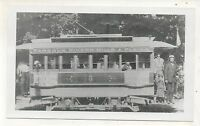 1889 Copy Repro WILKES BARRE SUBURBAN RAILWAY Trolley PA Pennsylvania Photo