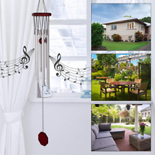 New listing Amazing Grace Extra Large Wind Chimes 6 Aluminum Tubes Outdoor Home Decor