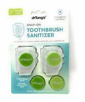 Dr. Tung's Snap-On Toothbrush Sanitizer 2 ea