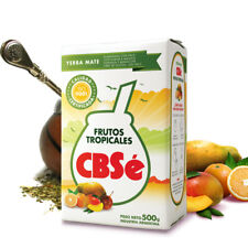 Tropical Fruits Mango Orange CBSe Yerba Mate Tea Weight Loss Energy Booster 500g