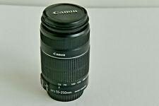 Canon EF-S 55-250mm F/4-5.6 Image Stabilization IS II Zoom Lens Macro 1.1m/3.6ft