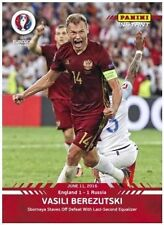 2016 Panini Instant VASILI BEREZUTSKI Russia EURO CUP (/50 Made) Red Version #6