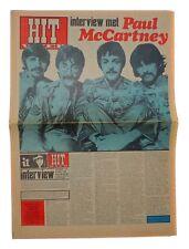 HITWEEK Magazine 9 June 1967 Beatles Paul McCartney Interview Procol Harum