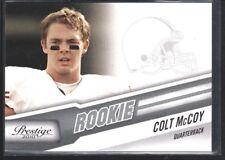 COLT MCCOY 2010 PANINI PRESTIGE #223 RC ROOKIE CLEVELAND BROWNS
