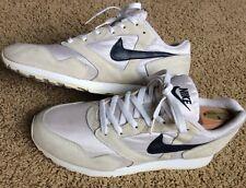 Vintage Nike Decade 1993 Men's Size 10.5 Heaven's Gate Shoes White Navy 931012