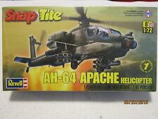 Revell Ah-64 Apache Helicopter 1/72 Snap Tite