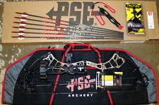 New PSE Brute Force LITE Bow KRYPTEK Camo 70# RH ULTIMATE Hunting PACKAGE W CASE