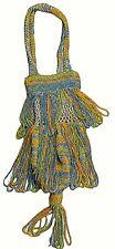 Exquis VINTAGE/Antique 1900s Véritable Edwardian Perlé Réticule Sac à Main 17x4