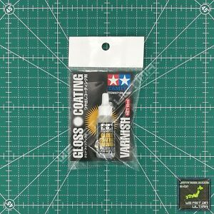 Tamiya Gloss Coating Varnish 10ml (Material Polish Coating) / TRACKED & COMBINED