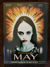 May Angela Bettis Jeremy Sisto Anna Faris 2003 Dvd screener body horror