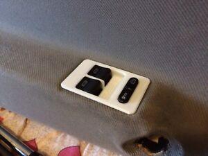 VW Polo 6N2, VW Lupo, SEAT Arosa Cornice per interruttore lato guida pulsantiera