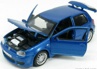VW VOLKSWAGEN GOLF R32 1:24 scale diecast model metal die cast toy car blue