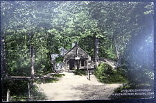 REDDING CT ~ 1910  OFFICER CAMP HOUSE IN PUTNAM PARK