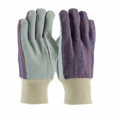 Bulk Work Gloves Split Cowhide Leather Palm With Fabric Back 120 Pair Ni