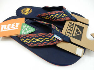 Reef Mens Smoothy Navy Red 7