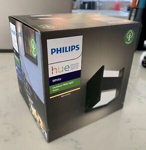 Philips Hue Fuzo Outdoor Wall Light - Black
