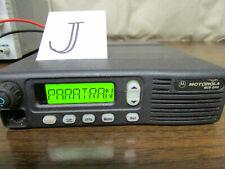 J Motorola Mcs 2000 Mobile Radio 800mhz Uhf 250 Channels M01hx812w As Is