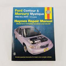 Haynes Repair Shop Manual Ford Contour and Mercury Mystique 1995 - 2000 36006