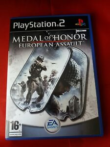 Medal of Honor: European Assault   PLAYSTASTION 2 WITH BOOKLET  16+