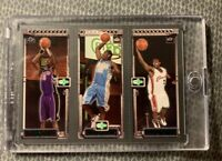 LeBron James + Carmelo Anthony + Chris Bosh 2003-04 Topps Matrix Rookie RC NrMT