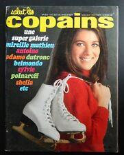 Salut les copains - n°69 - 1968 - Antoine, Mireille Mathieu, Sheila, Polnareff,