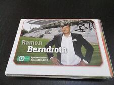 68496 Ramon Berndroth OFC Fehldruck original signierte Autogrammkarte