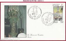 ITALIA FDC ROMA SASSARI DISCESA DEI CANDELIERI 1988 Z274