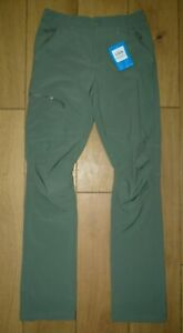 Columbia Omni-Shield Mens Active Trousers Green W30 L32