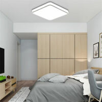 24W 20*20 Square LED Ceiling Down Light Flush Mount Kitchen Bedroom Fixture Lamp