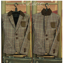 NEW SD17 Super Dollfie BJD Sadol BJD brown check jacket