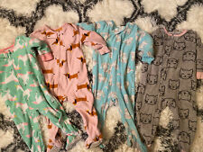 12 Month Girl Slepeers Pajamas Carters Lot Of 4
