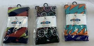 Extreme Fit Festival Edition Unisex L/XL Socks Lot of 3 Pairs