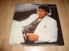 MICHAEL JACKSON THRILLER LP DE VINILO VINYL GATEFOLD SLEEVE DEL AÑO 1982