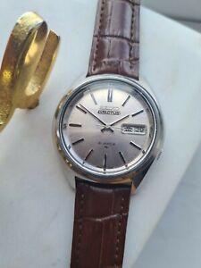 Vintage 1976 Seiko 5 Actus 7019-7060, Silver Dial Automatic Watch