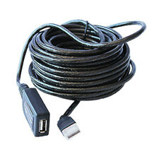 N33 10m USB 2.0 Verlängerungskabel Repeater Verstärker Kabel mit IC f PC Laptop