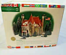 Dept 56 The Consulate Christmas in the City Series With All Flags