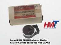 Suzuki FR80 FR80N Indicator Flasher Relay 6V. 38610-35320-000 NOS JAPAN