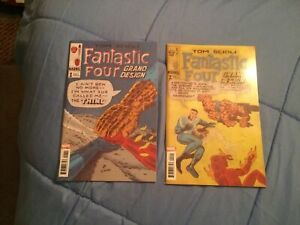 Fantastic Four Grand Design #1-2 Complete Set Cover A 1st Print [Marvel, 2019]