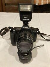 Canon EOS 650 Film Camera With Sigma 55-200mm AF Lens + Zykkor 460 TTL Flash