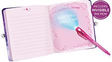 Locking Diaries Password Journals Unicorn Girl Kids Notebook with Key Lock
