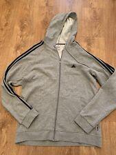 02 Adidas Men's Grey Hoodie Size XL