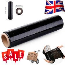 Stretch Cling Film Extended Core &Standard 420mm Pallet Shrink Wrap Parcel Black