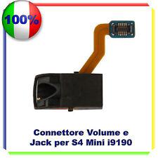 Samsung Galaxy S4 MINI i9195 Flex Jack Cuffia Audio Ricambio Interno Flat  FLEX