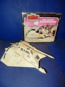 Vintage Star Wars Snowspeeder with Box